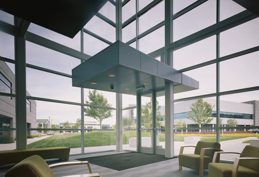 And interior view from the Microsoft Campus as designed by Quezada Architecture