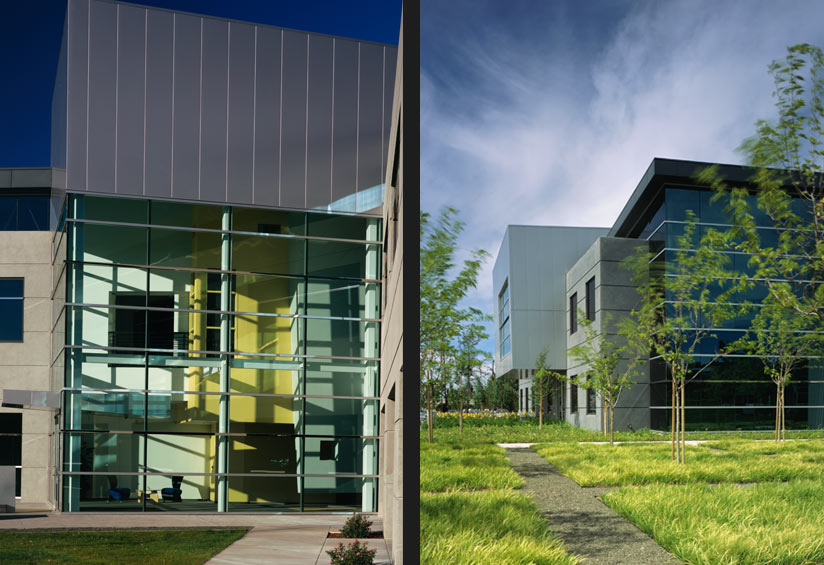 Design details of the Microsoft Campus as designed by Quezada Architecture